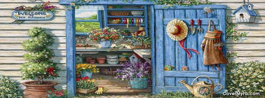 Garden Shed Facebook Covers, Garden Shed FB Covers, Garden Shed Facebook Timeline Covers, Garden Shed Facebook Cover Images