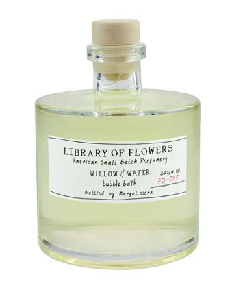 Library Of Flowers Willow Water Bubble Bath Willow Water Water Bubbles Bubble Bath