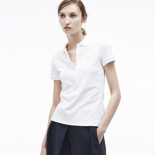 99c7dc985b Lacoste Women's Slim Fit Stretch Piqué Polo | Workin' On My Fitness ...