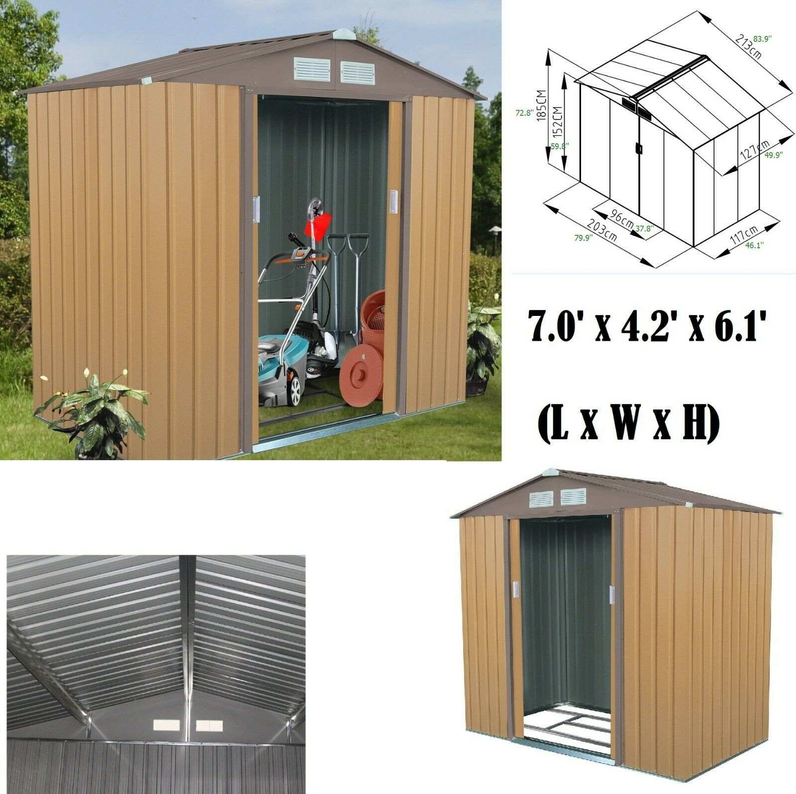 This Is An 8x10 Shed With Cedar Siding With A Sliding Door Backyard Sheds Backyard Shed Studio Shed