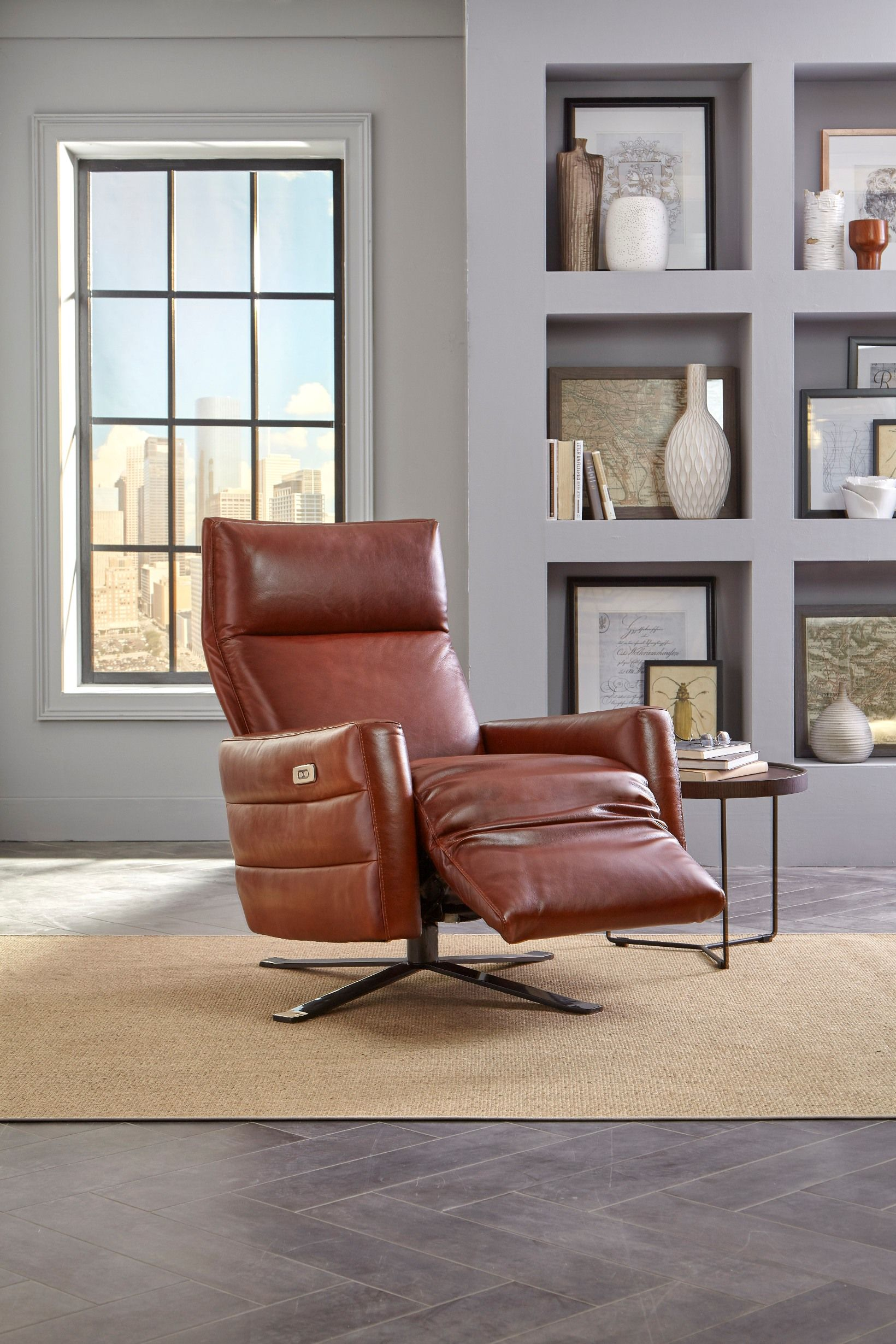 Natuzzi Editions Sofia Recliner Modern Home Furniture Electric Recliners Recliner
