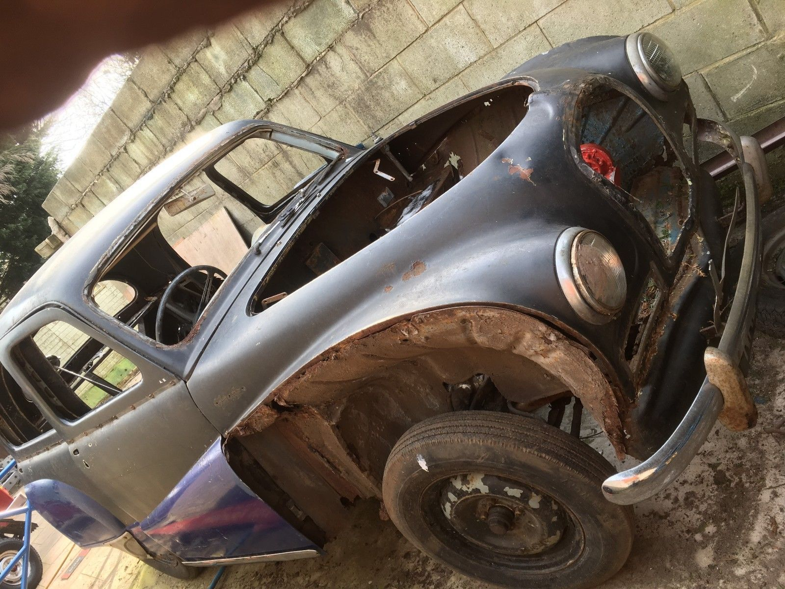 Austin a40 somerset for banger racing o spare parts
