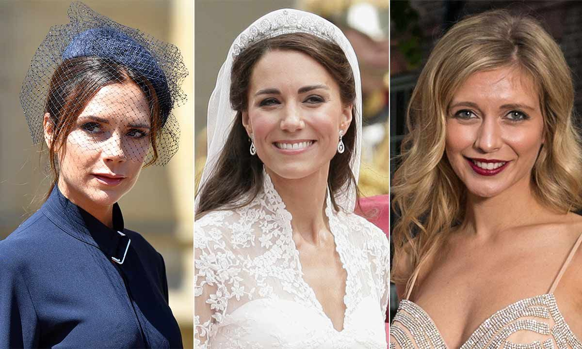 Your summer wedding makeup essentials – inspired by Kate Middleton, Rachel Riley and Victoria Beckham