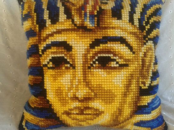 Handmade Egyptian pharaoh Tutankhamun cross by simplyproducts, $30.00
