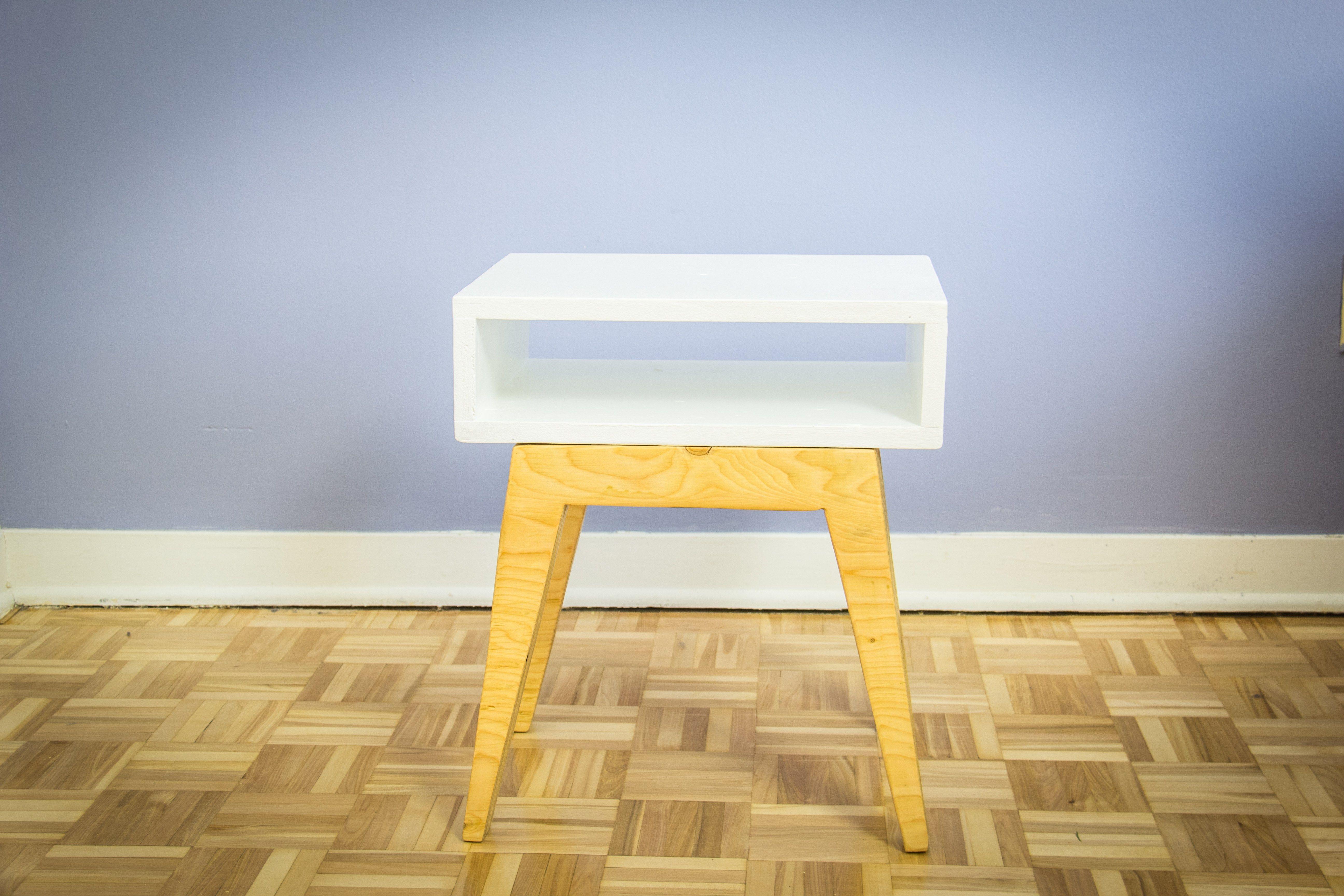 Comment Fabriquer Une Table De Chevet Scandinave Ep13 Meubles  # Fabriquer Un Meuble Scandinave