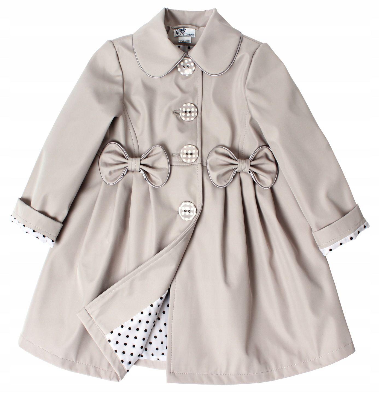 Bezowy Plaszczyk Dla Dziewczynki Wiosna 104 Hit 7799945917 Oficjalne Archiwum Allegro Fashion Shirt Dress Mens Tops