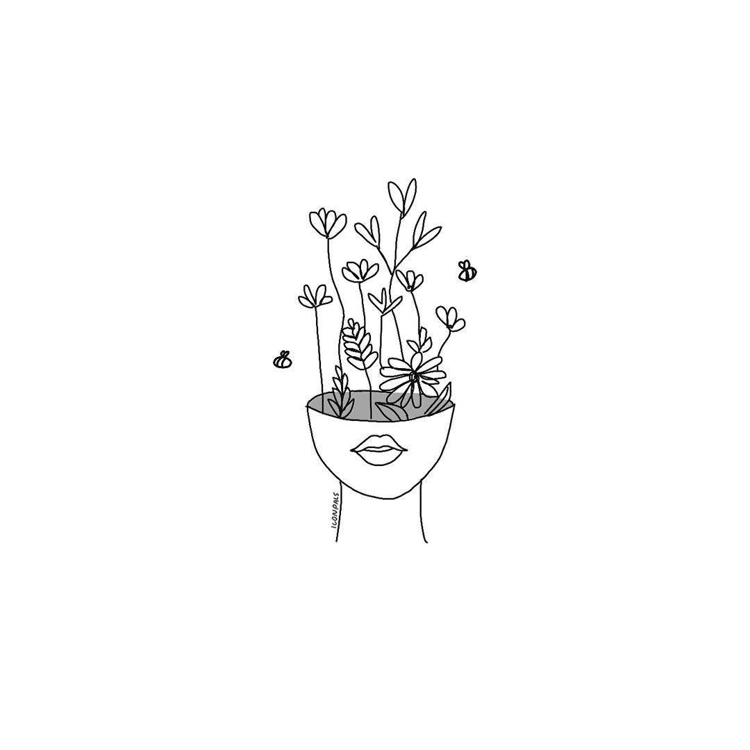 """Photo of garabatos diarios en Instagram: """"¿tienes plantas en tu habitación?"""""""