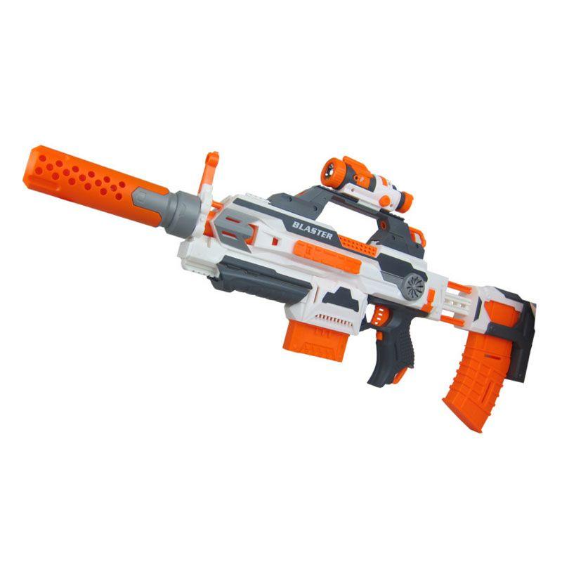N-Strike Modulus Soft Bullet Plastic Toys Machine Guns Compitable With Nerf  - Barkley Deal