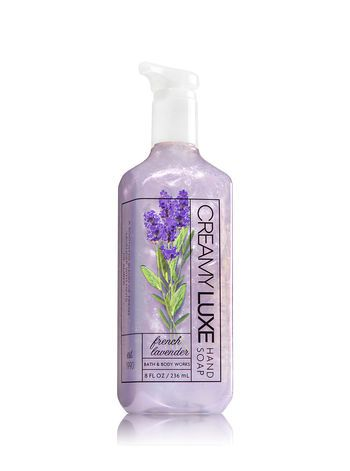 French Lavender Creamy Luxe Hand Soap Bath And Body Works Bath