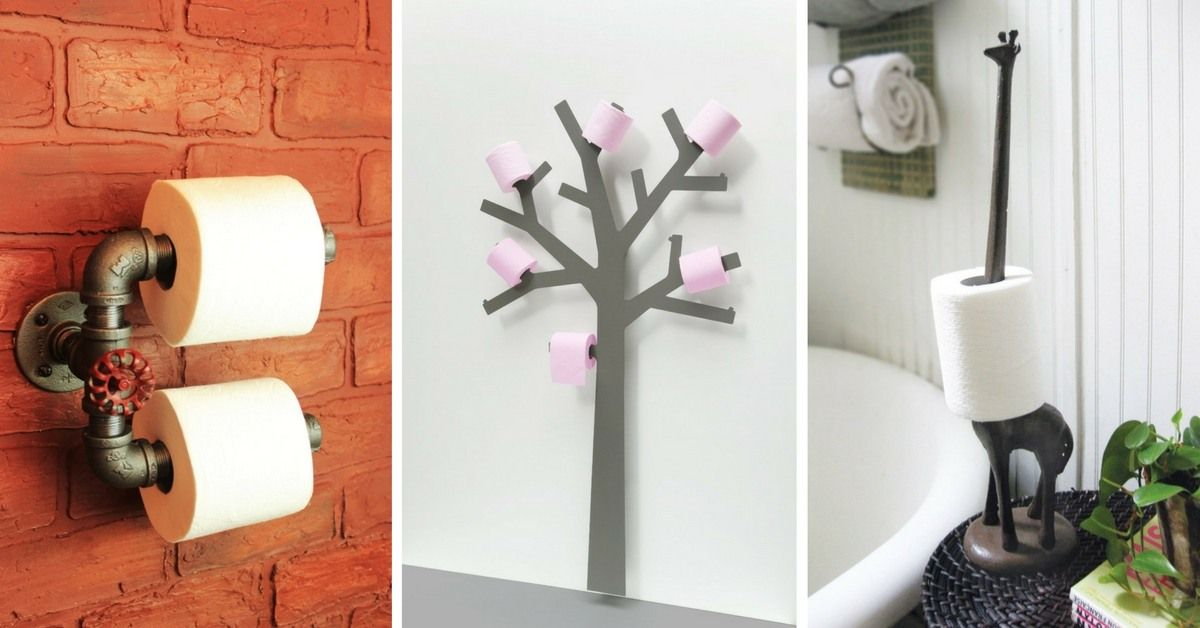 Hanging Toilet Paper Holder Rangement Toilette Rangement Astuce Rangement