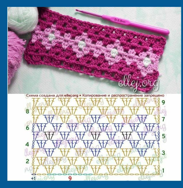 Pin de Lakhvir Nandra en crochet stitches | Pinterest | Croché ...