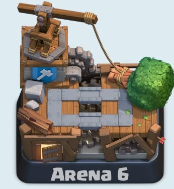 Arena 6 Builder S Workshop 1700 Trophies Clash Royale