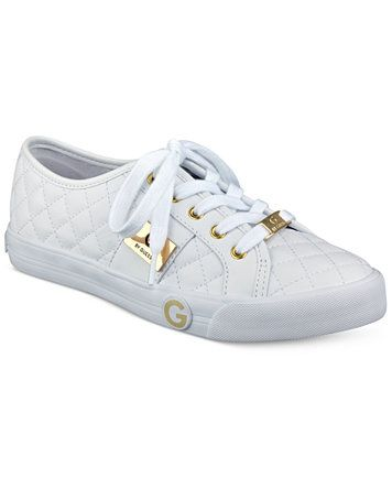016ac0bbcf98 G by GUESS Byrone Quilted Lace-Up Sneakers