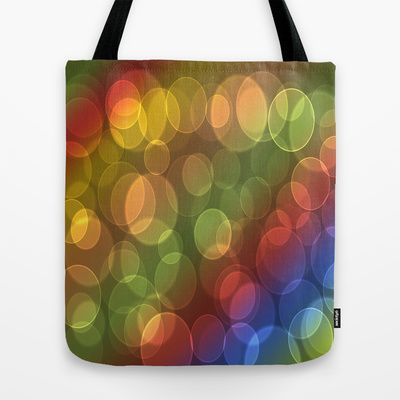 Colorful circles Tote Bag