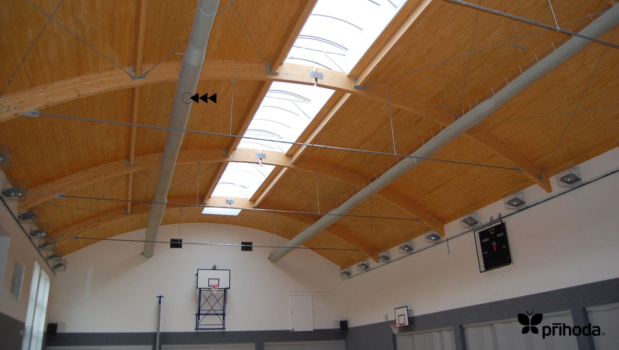 Prihoda Fresh Air Ventilation Fabric Ducting in a large