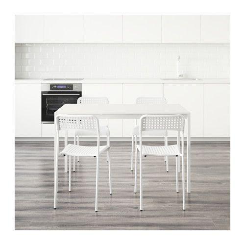 MELLTORP / ADDE 테이블+의자4  - IKEA