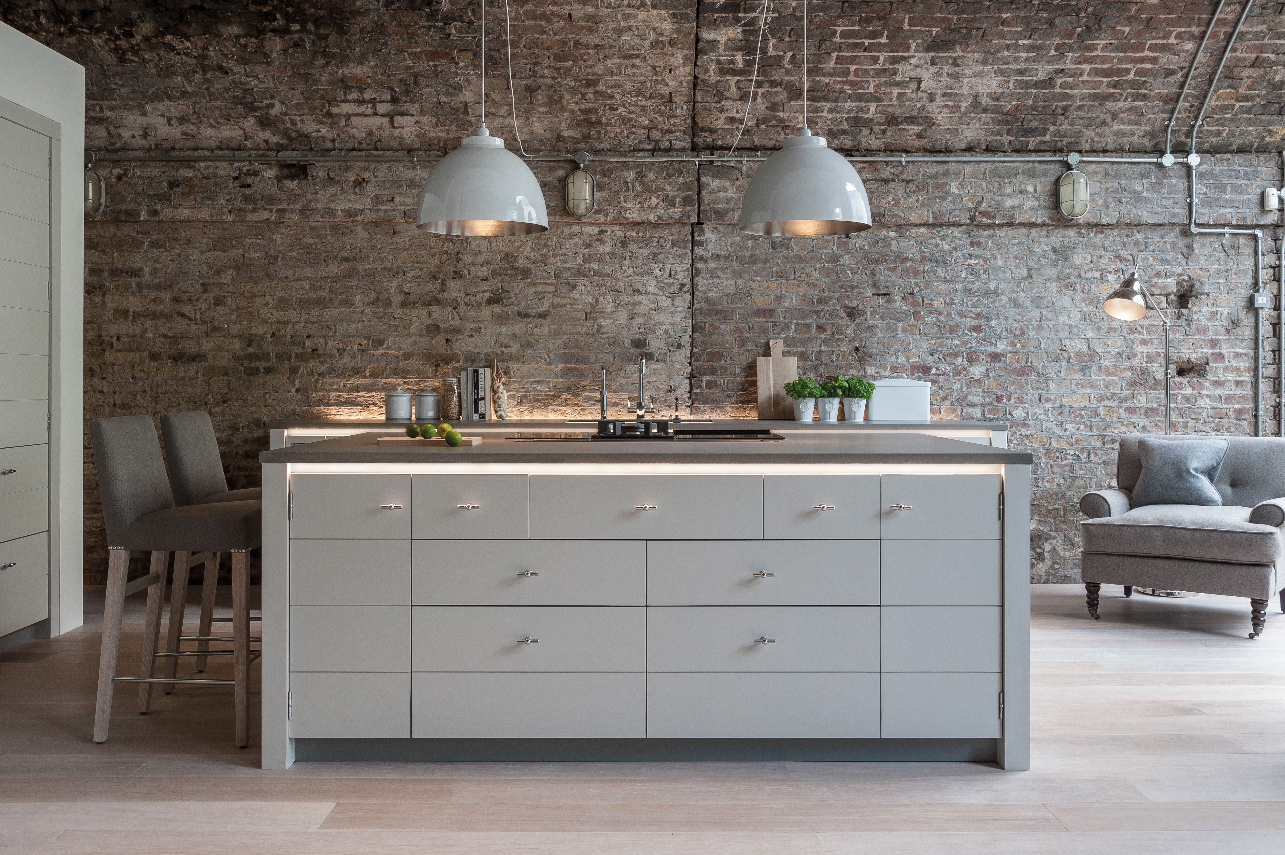 Neptune Limehouse Handmade Fitted Kitchen Available At Browsers