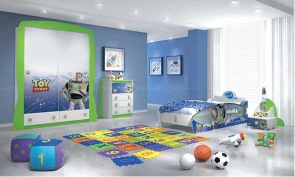 Dormitorio varon personaje toy story | mi soñada casa | Case