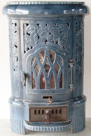 Multi Fuel Tower stove by Deville Charleville Mézières | fire place ...