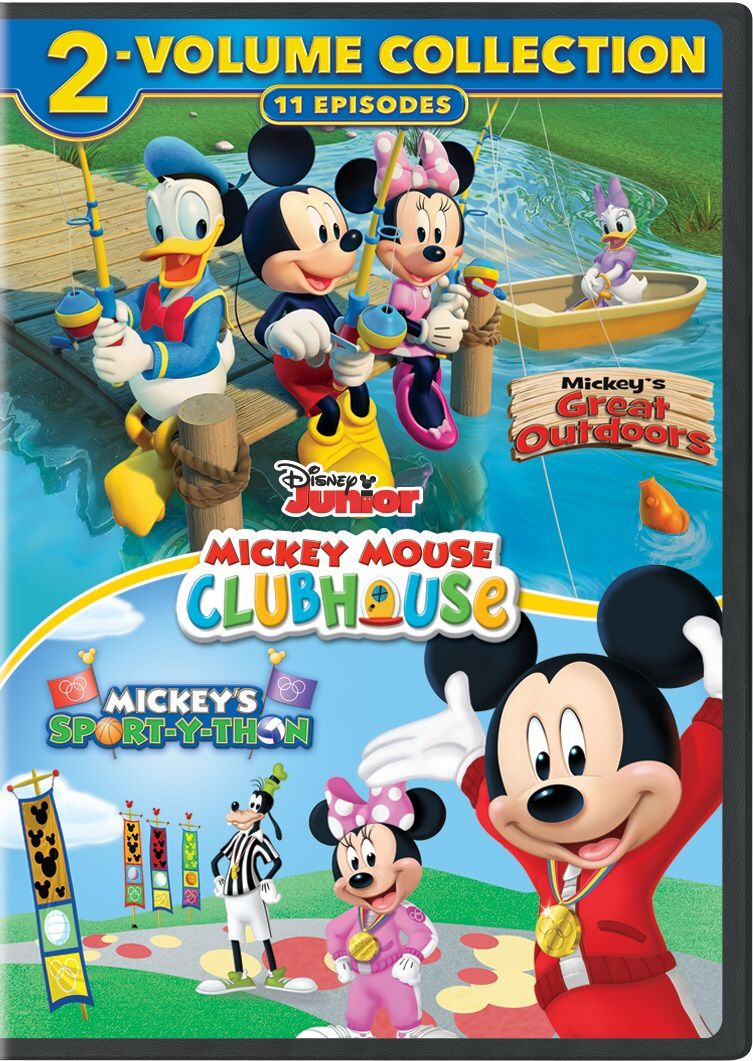 Mickey Mouse Clubhouse 2 Dvd Collection Only 11 99 Mickey