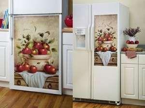 Apple Kitchen Decor | Red Apple Refrigerator Magnet Magnetic Cover Kitchen  Decor Standard