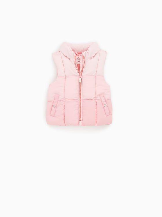Baby Girls' Outerwear   Online Sale   ZARA Ireland   Жилет