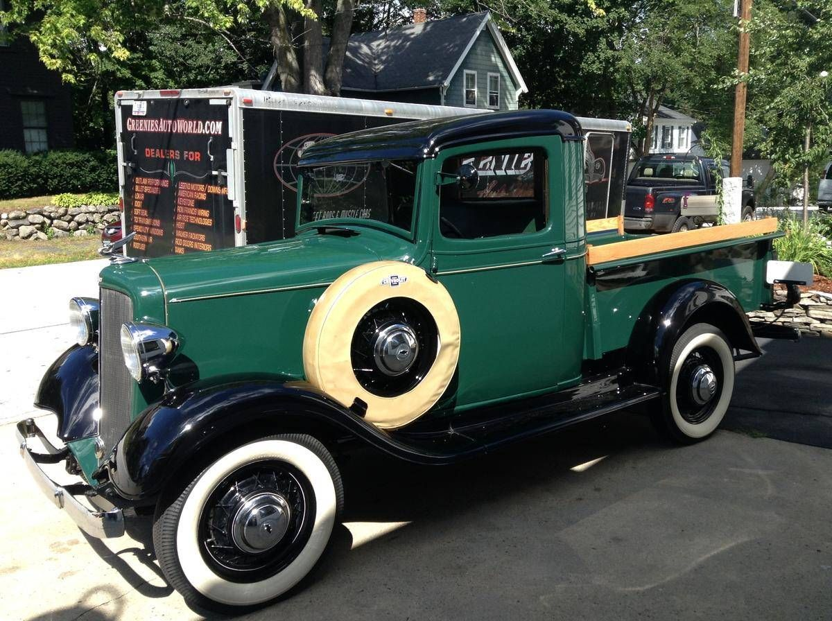 1934 Chevrolet Master Deluxe High Cab Pickup Maintenance/restoration ...