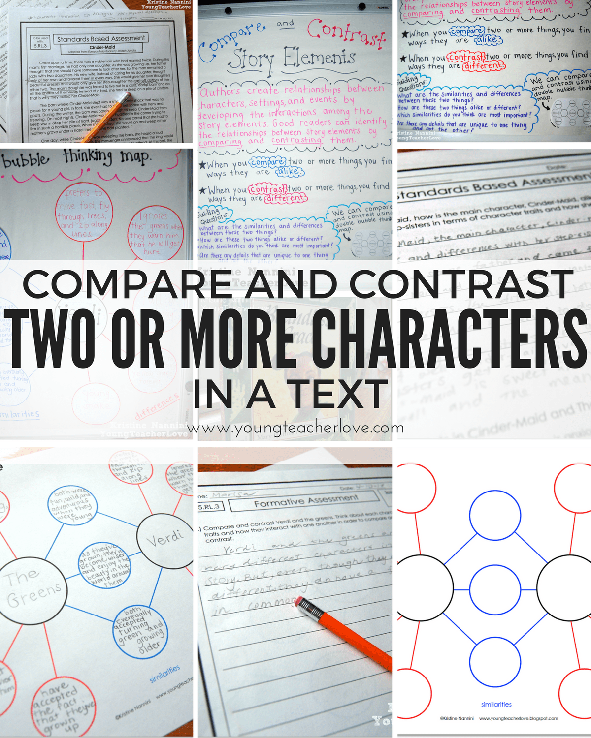 Compare And Contrast Two Or More Characters In A Story