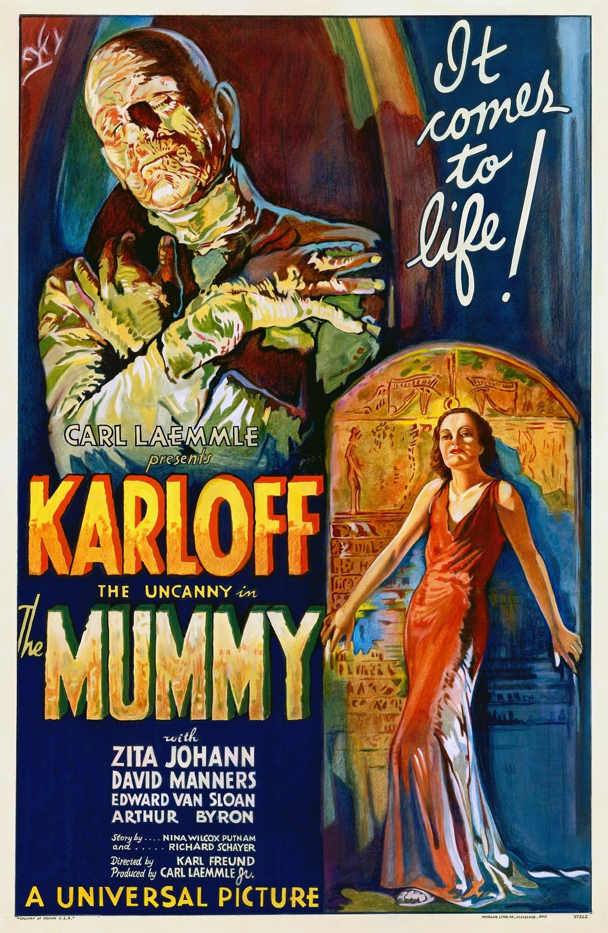 Universal Classic Horror Film Posters 1920s 1950s Posterism