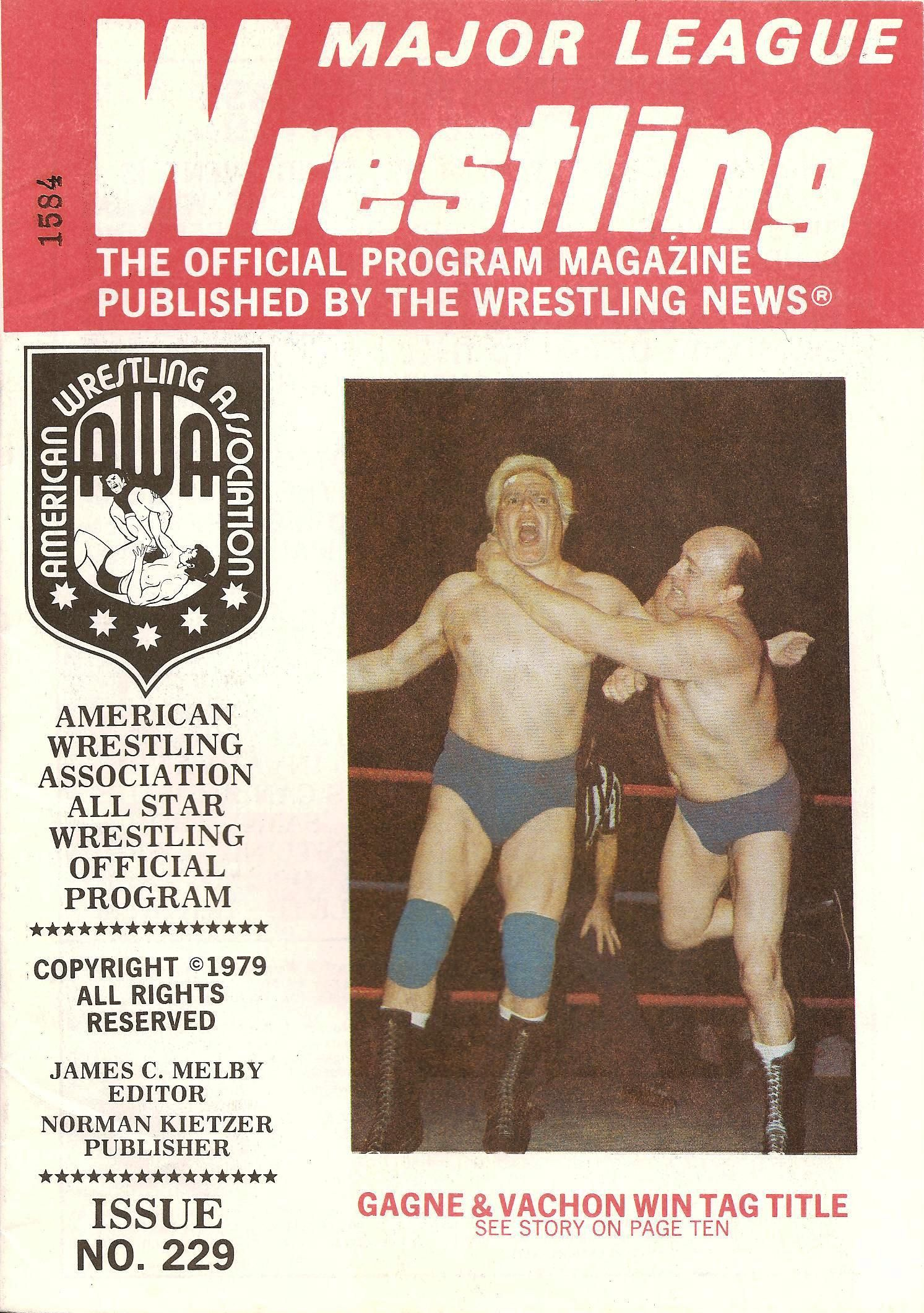 Major League Wrestling July 1979
