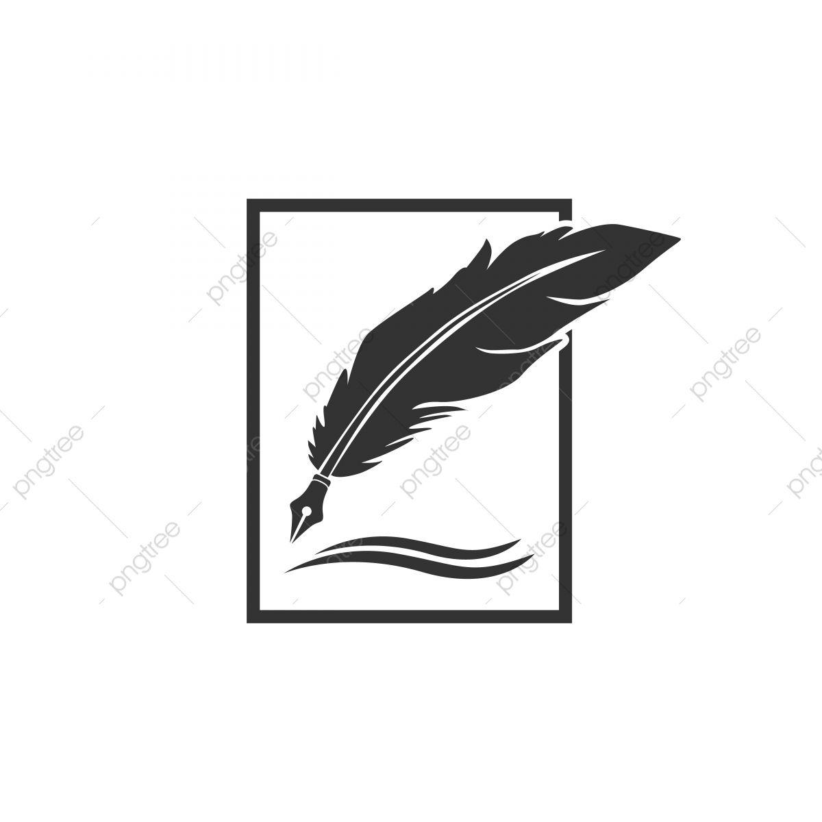 Pluma Pluma Logo Designs Clipart De Plumas Iconos De Plumas Logo Icons Png Y Vector Para Descargar Gratis Pngtree In 2021 Ink Logo Logo Pen Feather Icon