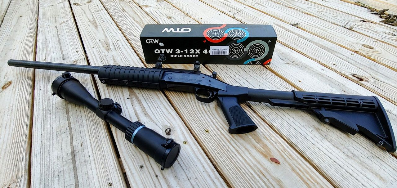 Rifle Scope Review - OTW 3-12X40 From Amazon   Product
