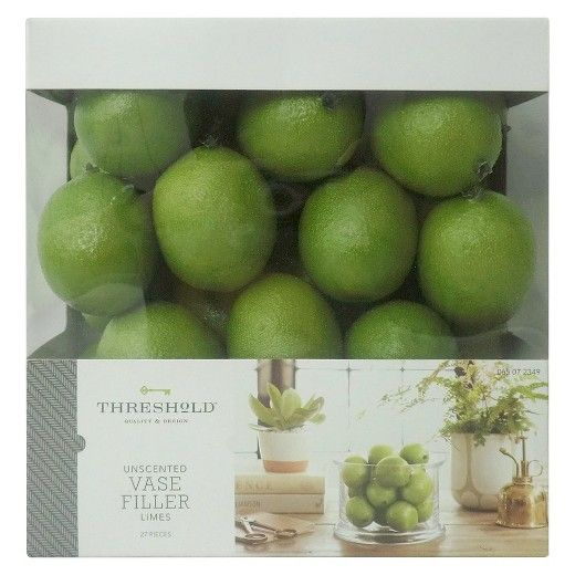 Thresholds Vase Filler Limes Add A Splash Of Refreshing Color To An