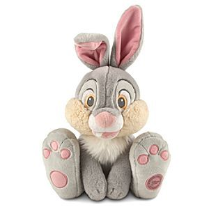 Disney Thumper Plush - Bambi - Medium - 15'' | Disney StoreThumper Plush - Bambi - Medium - 15'' - You'll be totally ''twitterpated'' by our soft and cuddly Thumper plush. The bodacious bunny from <i>Bambi</i> is one huggable hare to share all through the seasons!