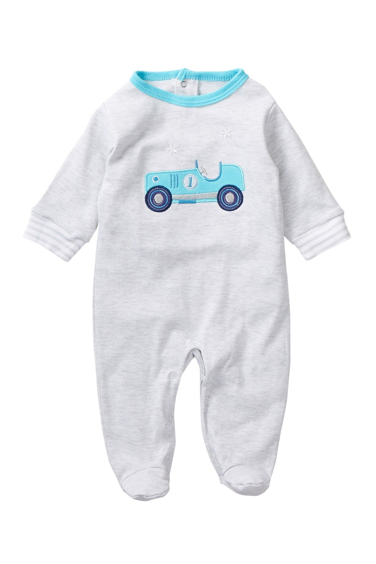 Rene Rofe Little Driver Footie Baby Boys