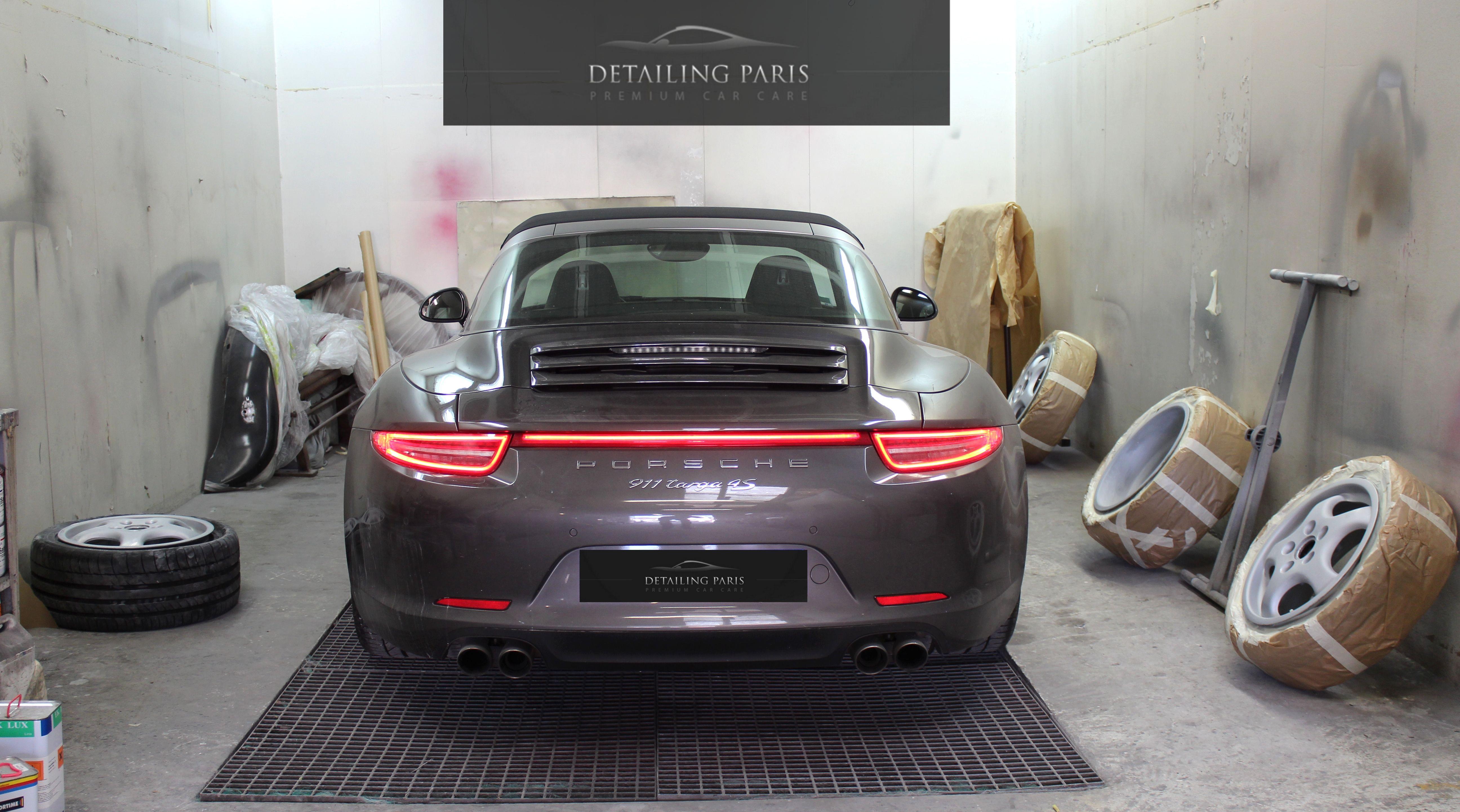 atelier carrosserie peinture porsche 991 targa 4s r novation automobile atelier. Black Bedroom Furniture Sets. Home Design Ideas