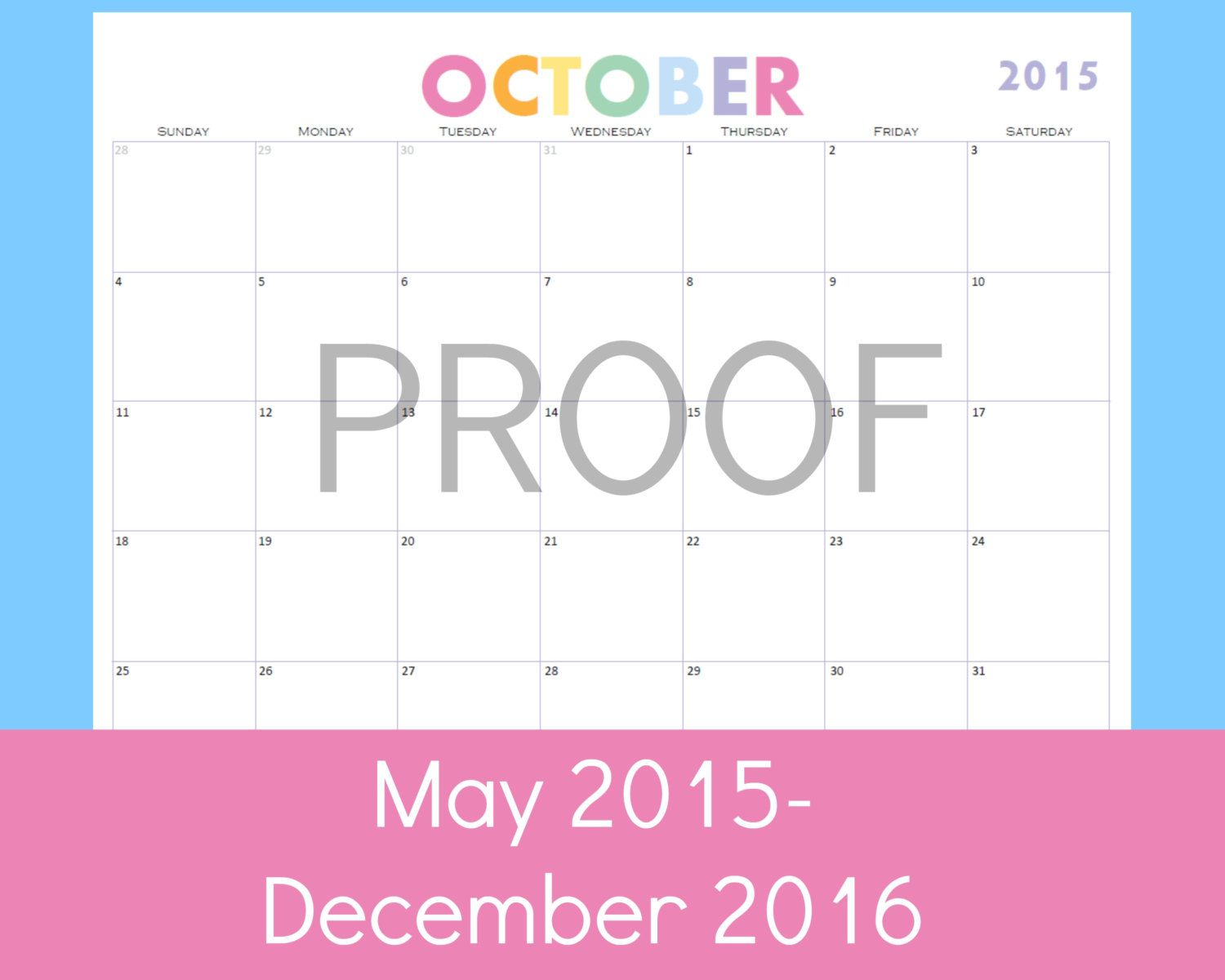 New To Commandcenter On Etsy Calendar Printables Monthly