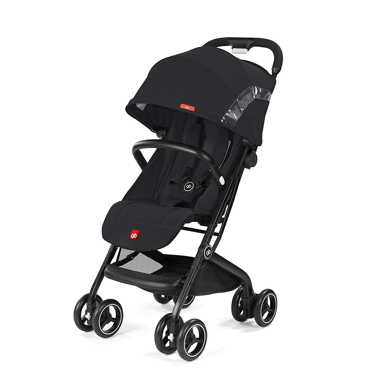 gb Gold Qbit Pushchair, Satin Black. Suitable from approx