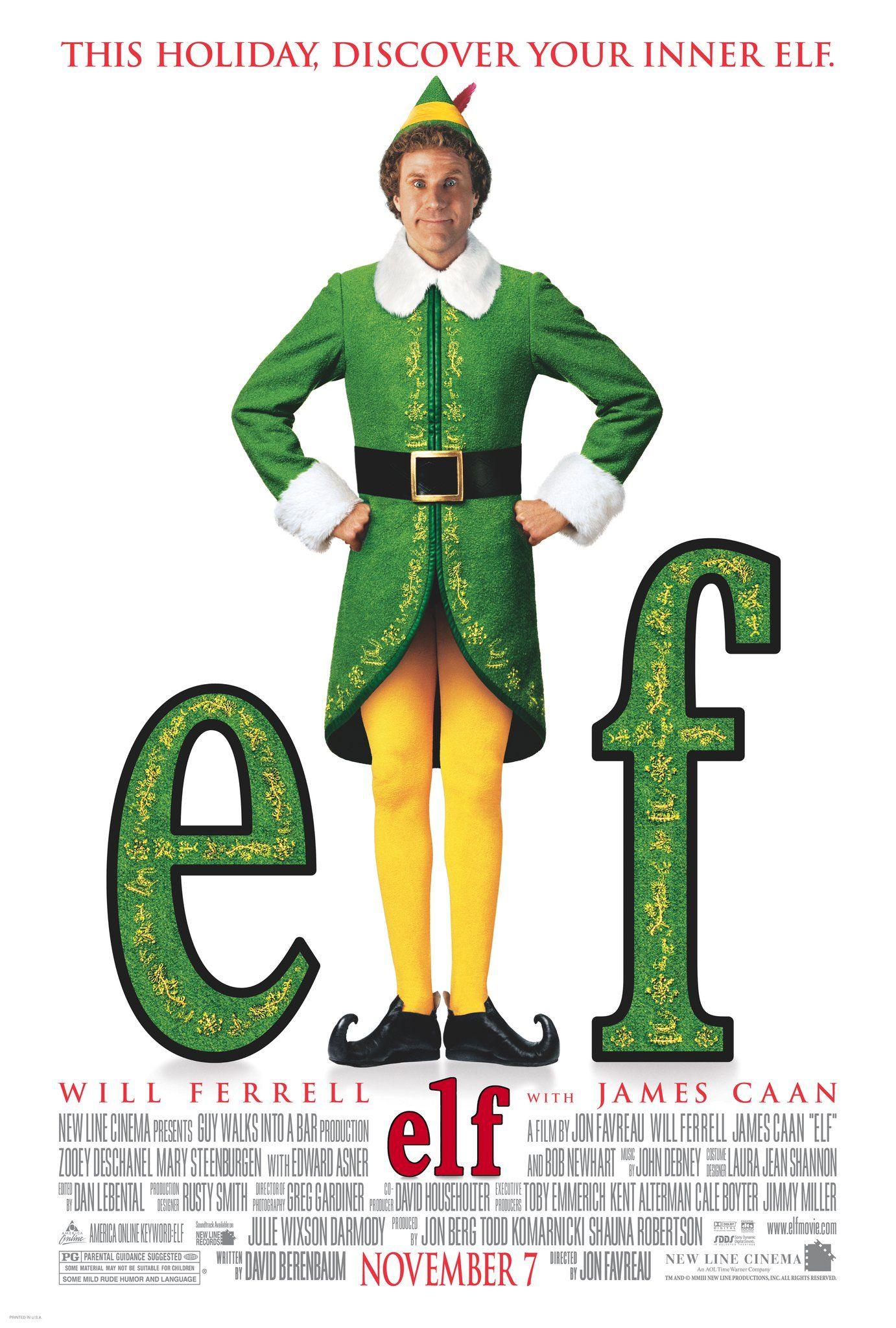 Image result for elf poster