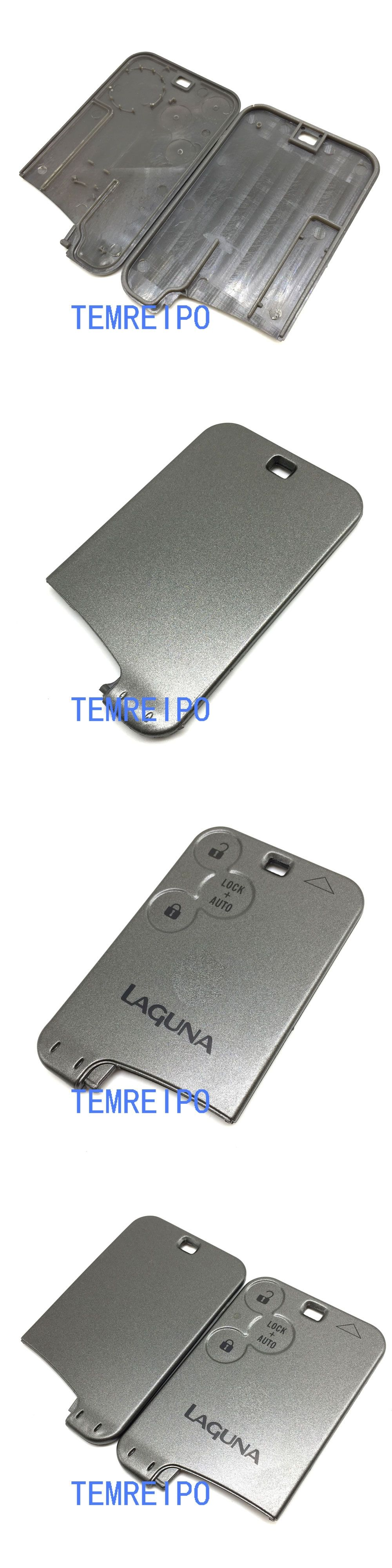 3 Button Remote Car Key Shell Replacement For Renault Laguna Smart