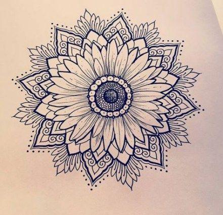 Photo of Tattoo Mandala Shoulder Cap Sunflowers 15 Ideas