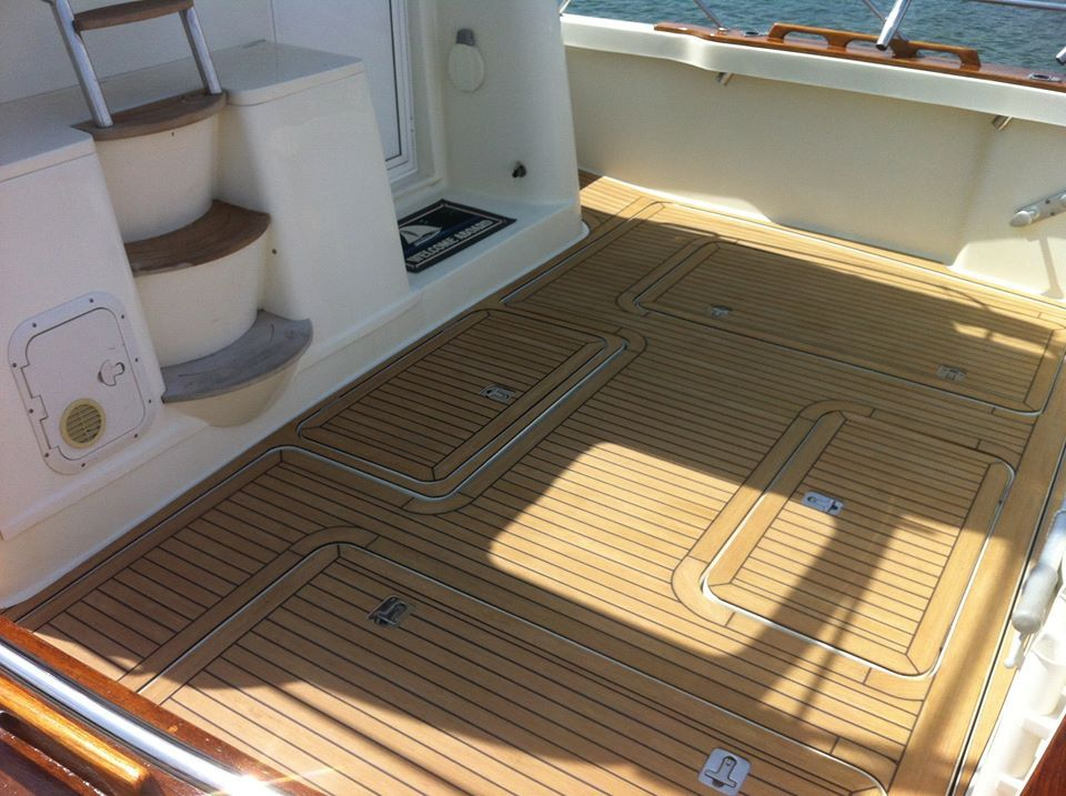 Marine Yachts Boat Deck Materials Synthetic Boat Floor Pvc