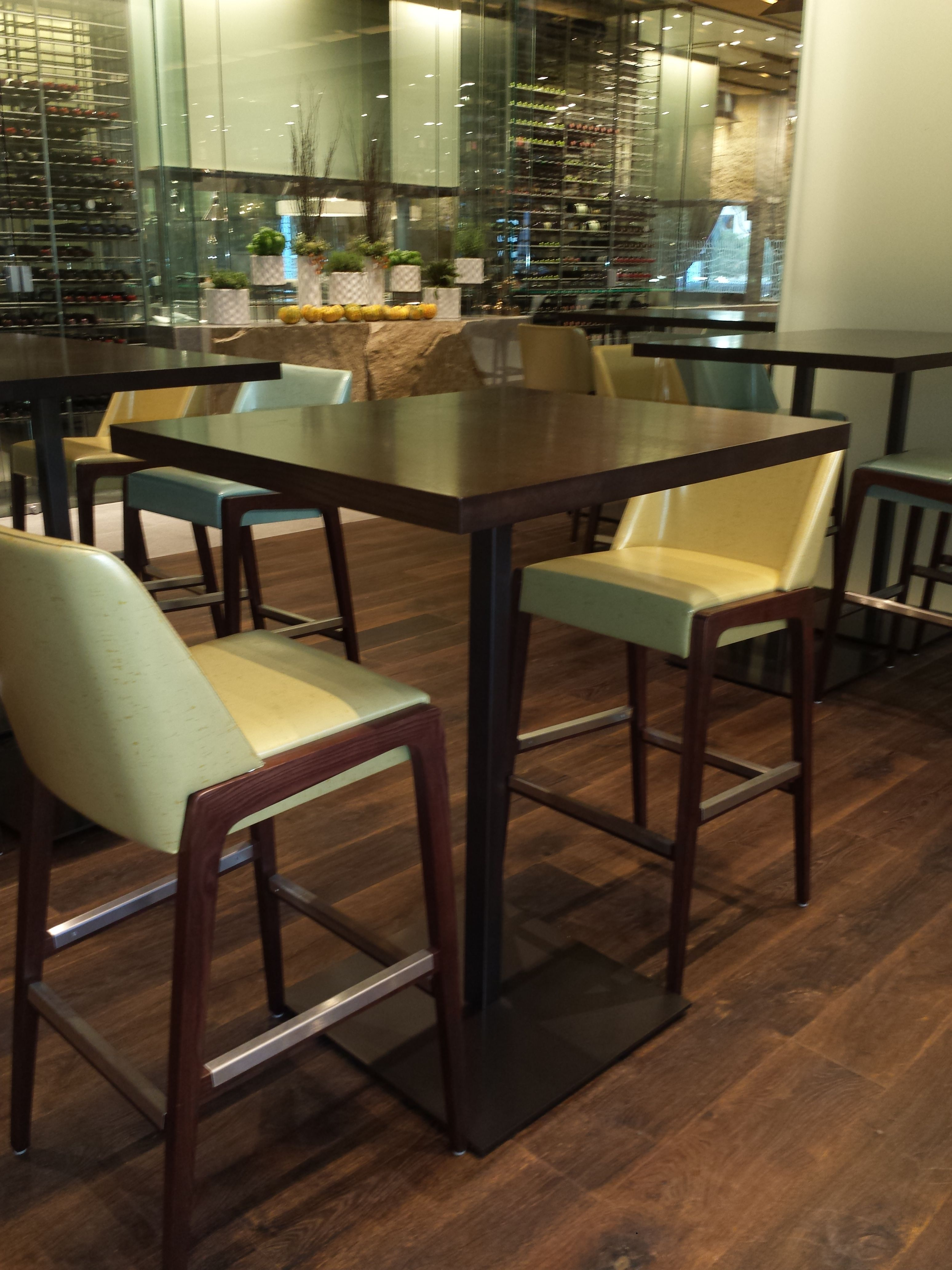 Aceray  Bar Stools And Chairsour Gala Bar Stool At The New New Restaurant Dining Room Furniture Design Decoration