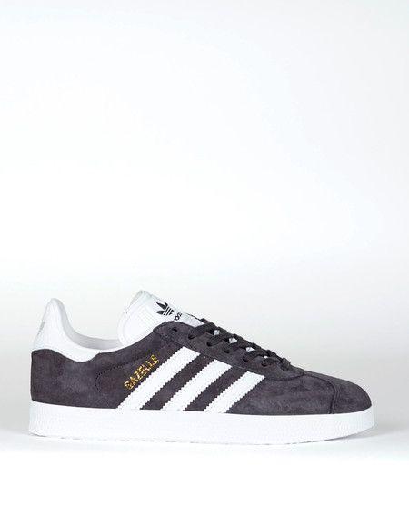 845040b1b41 Adidas Gazelle Utility Black White Gold