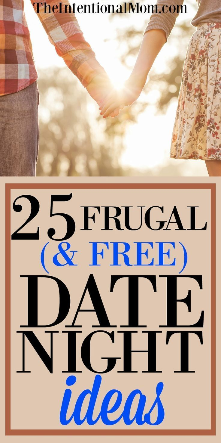25 Frugal (& free!) Date Night Ideas