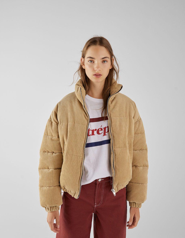 Corduroy Puffer Jacket Long Puffer Jacket Women Puffy Jacket Outfit Puffer Jacket Outfit [ 1313 x 1024 Pixel ]