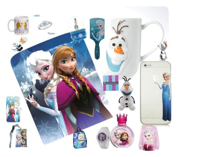 """I love frozen"" by rabaudlisa on Polyvore featuring Disney"