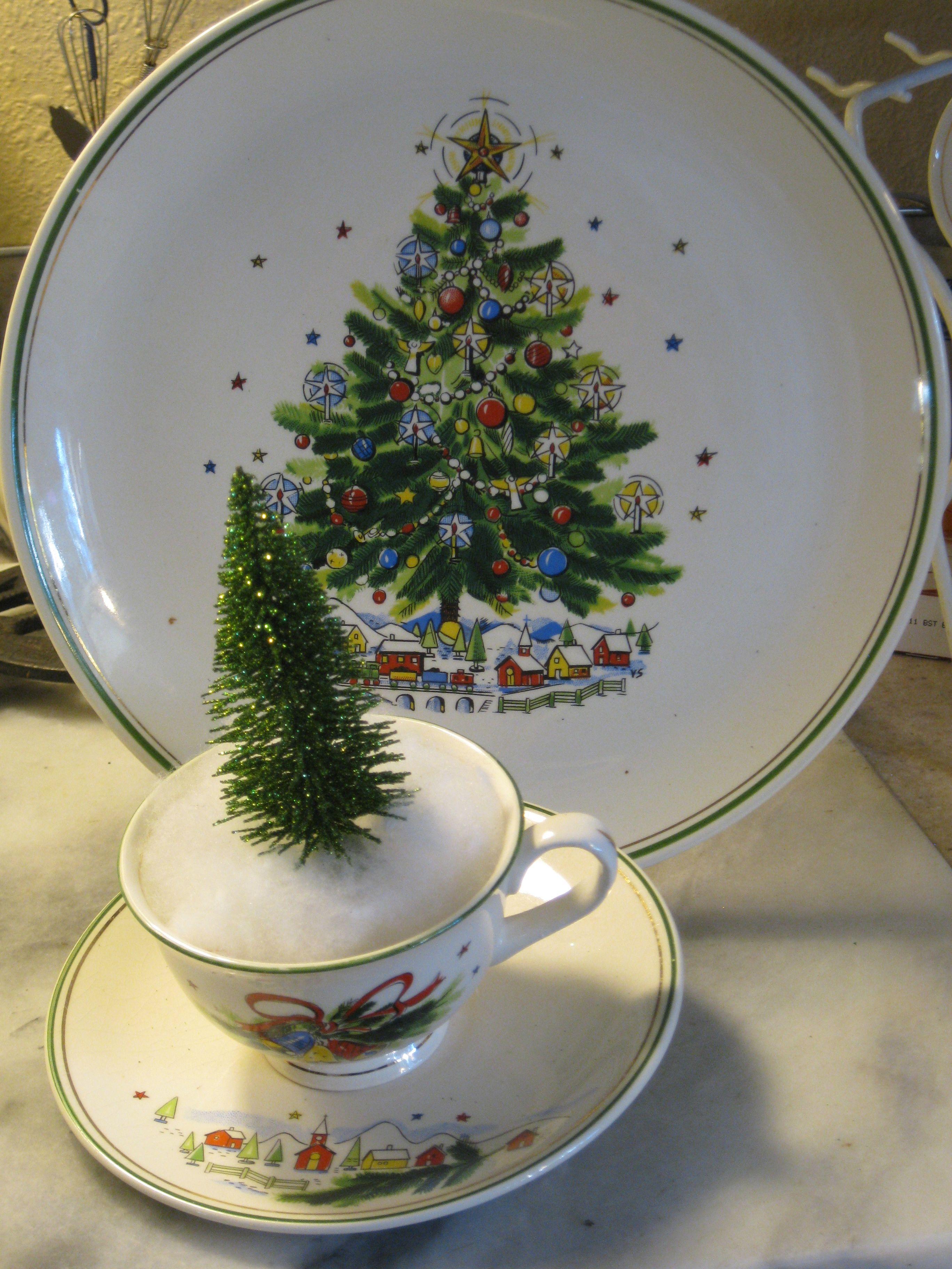 Vintage salem china christmas eve suggest
