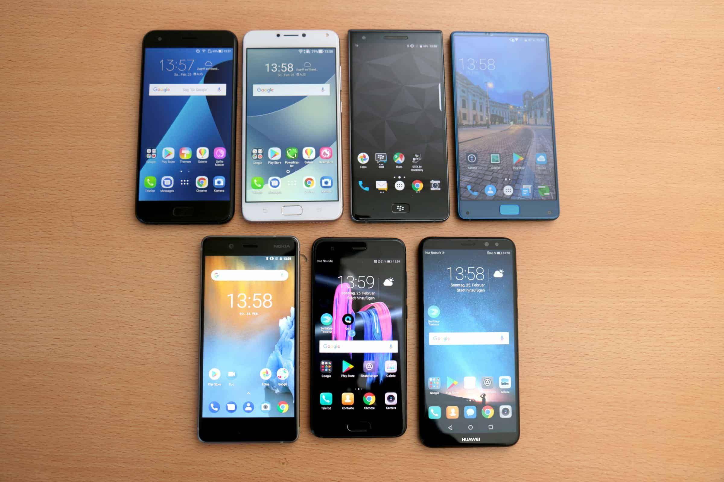 Sony Mittelklasse Smartphone