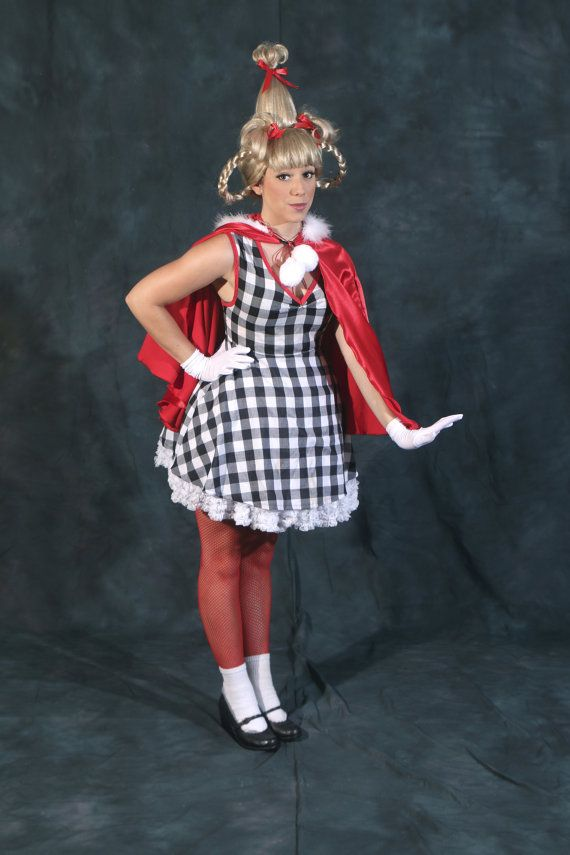Diy Costumes Ideas Cindy Lou Who From The Grinch Stole Christmas Costume Idea Via Designsashkat3